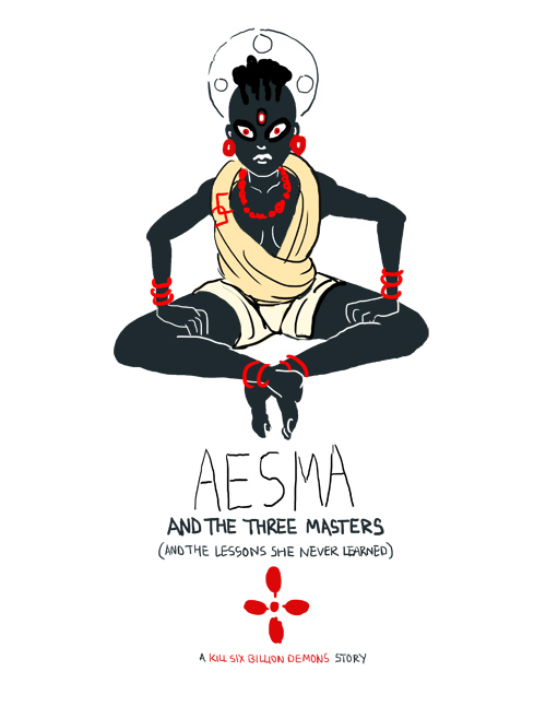 Weeping Aesma, also known as Ashma, rules ambition, greed, and self-sufficiency