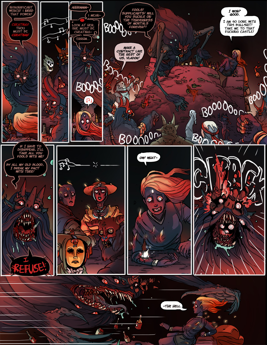 There's a reason we haven't seen any Unbound Devils in the comic yet
